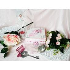 Cutie verighete Pink roses