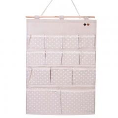 Organizator textil perete cu 13 buzunare