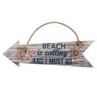 Semn vintage Coastal Beach