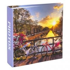 Album foto bicycles in sunset