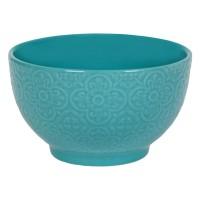 Bol ceramica turcoaz