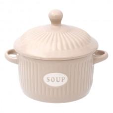 Bol supa crem ceramica