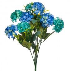 Buchet hortensie albastra artificiala