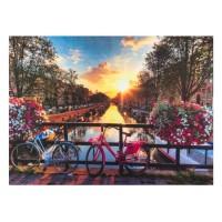 Pres intrare Biciclete prin Amsterdam