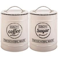 Set recipiente cafea si zahar