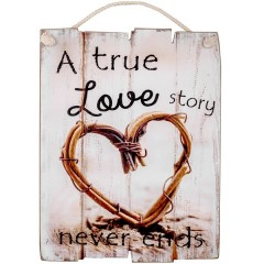 "Tablou decorativ ""True love story"""
