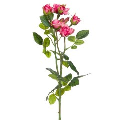 Trandafiri roz artificiali